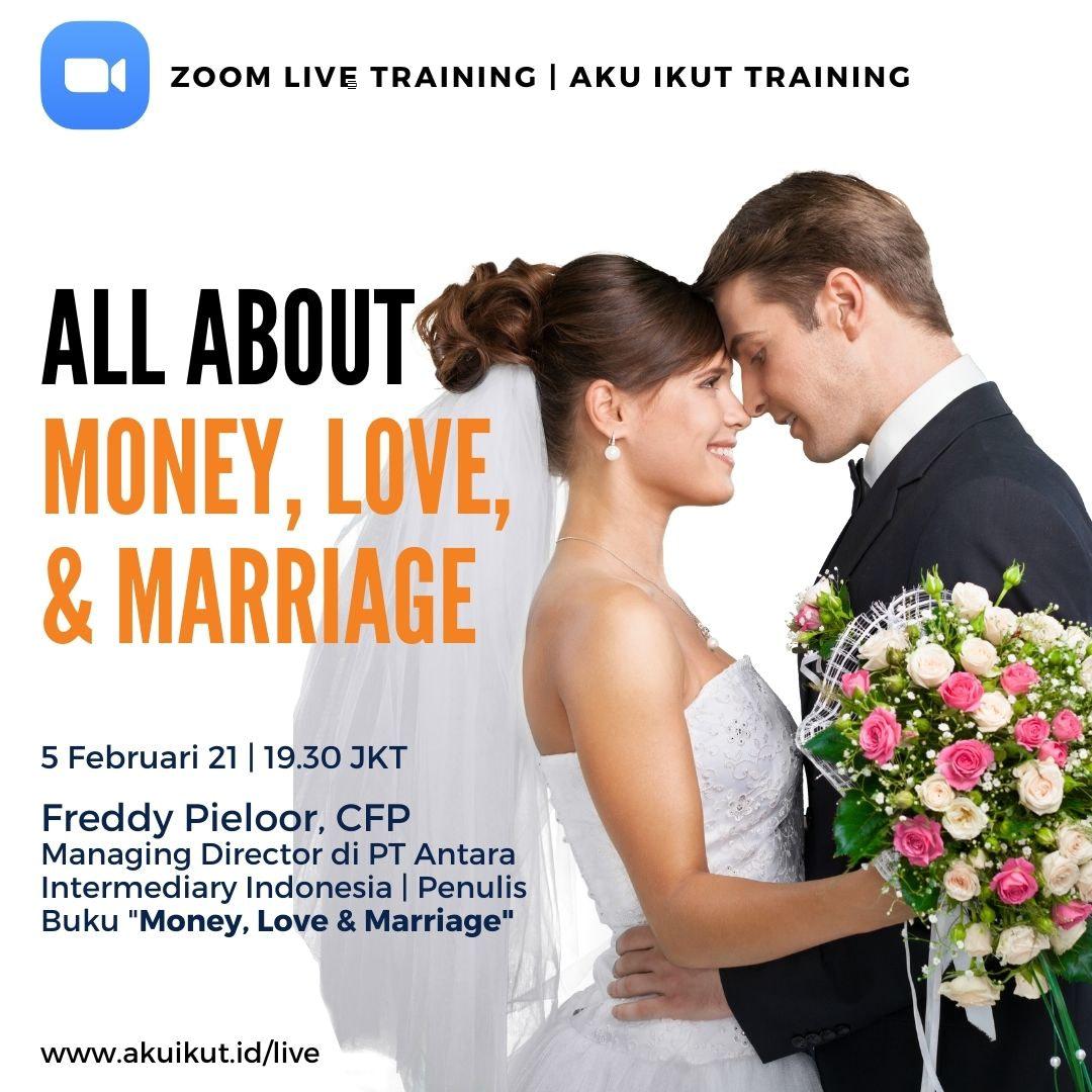 Live Training Money, Love & Marriage