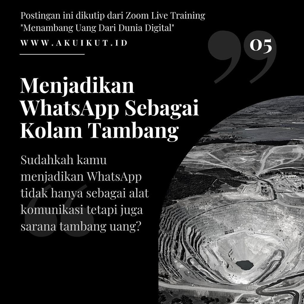 Menambang Uang Di Dunia Digital (5)