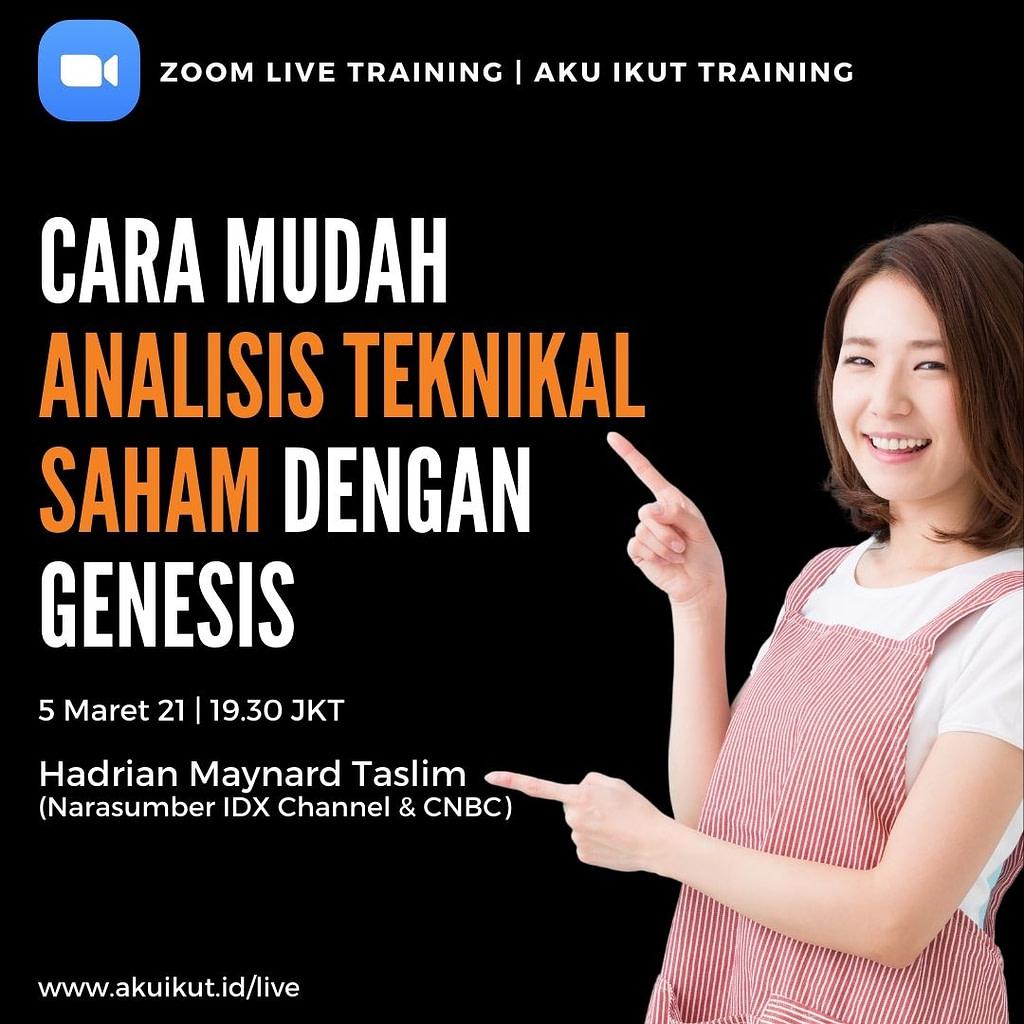 Flyer Cara Mudah Analisis Teknikal Saham Dengan Genesis (2)