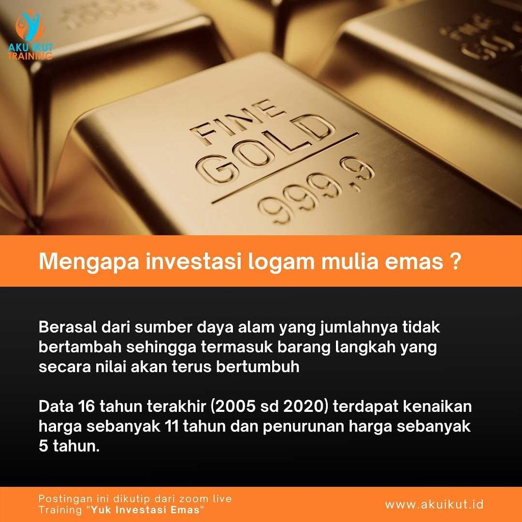 Investasi Logam Mulia Emas (1)