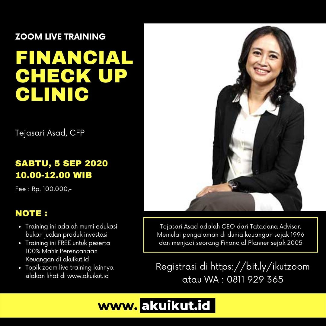 Financial Clinic Check Up