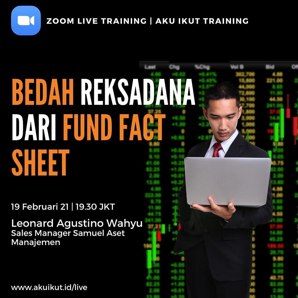 Zoom Bedah Reksadana Dari Fund Fact Sheet