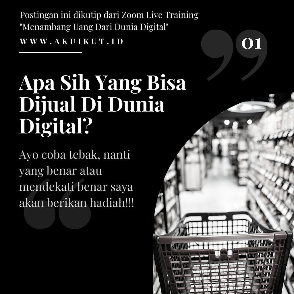 Menambang Uang Di Dunia Digital (1)