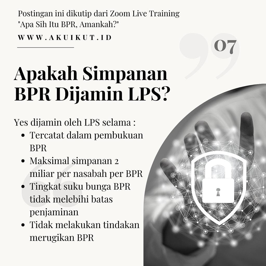 Apa Sih BPR, Amankah (7)